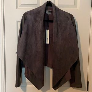 NBW faux leather Kut from the Kloth jacket.